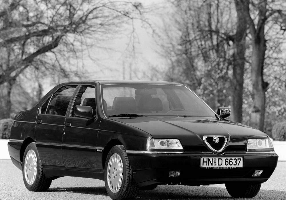 Fiche technique Alfa Romeo 164 3.0 V6 (1994-1997)
