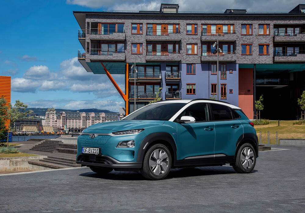 Fiche technique Hyundai Kona Electric 135 (2018)