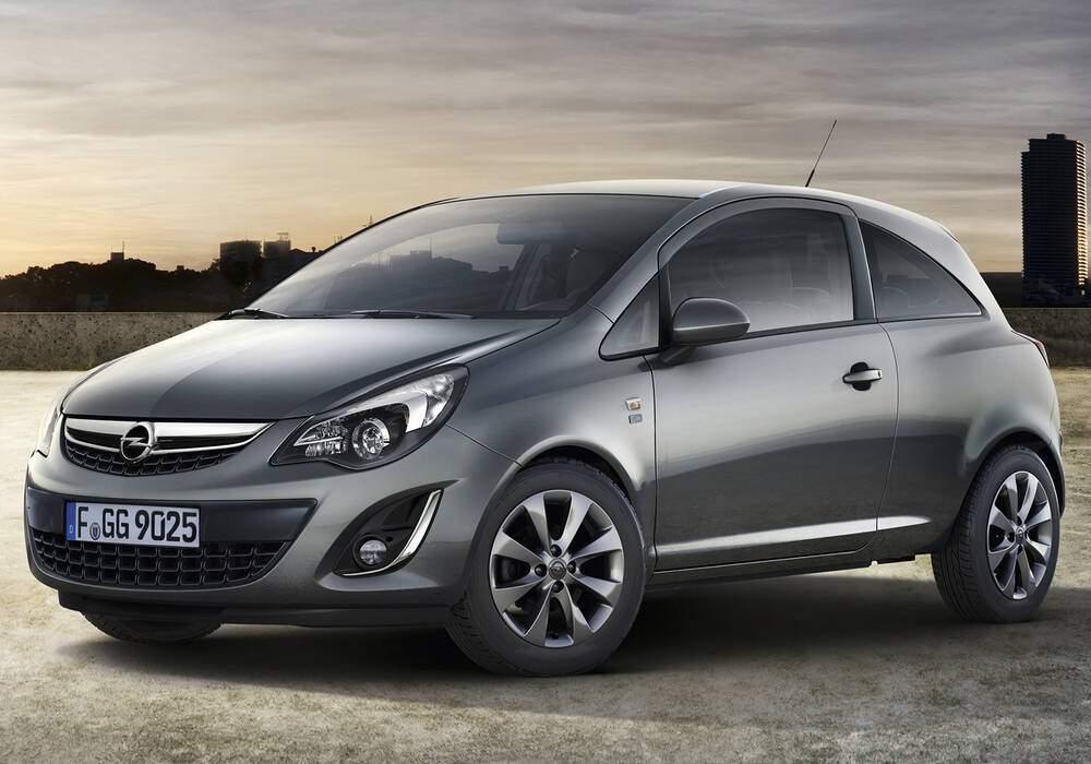 Fiche technique Opel Corsa IV 1.2 Twinport 85 « 150th Anniversary » (2012)