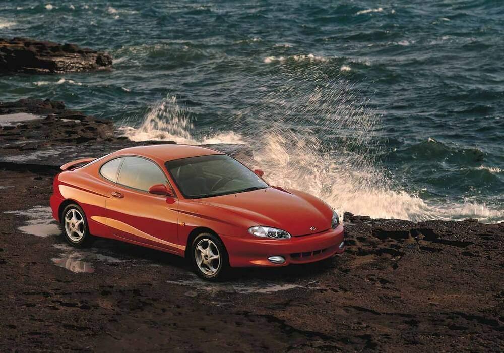 Fiche technique Hyundai Coupé 1.6 (1997-1999)