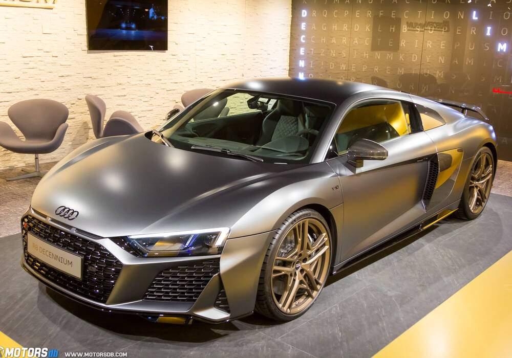Genève 2019 : Audi R8 Decennium