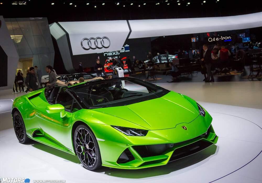 Genève 2019 : Lamborghini Huracán EVO Spyder