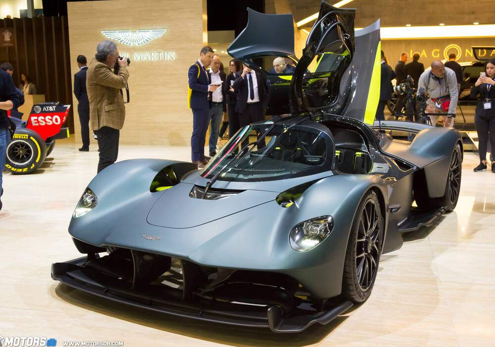 Genève 2019 : Aston Martin Valkyrie