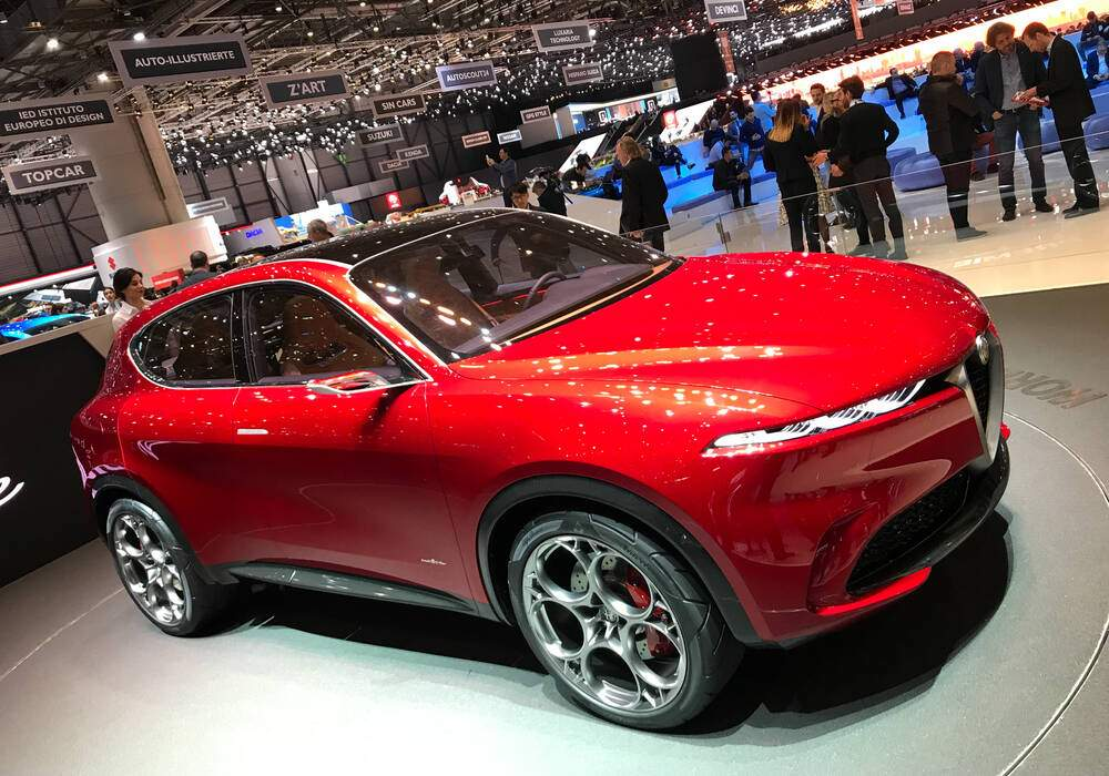 Genève 2019 : Alfa Romeo Tonale Concept