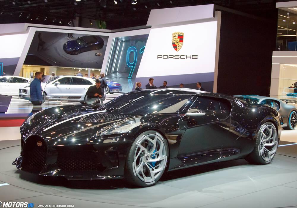 Genève 2019 : Bugatti « La Voiture Noire »