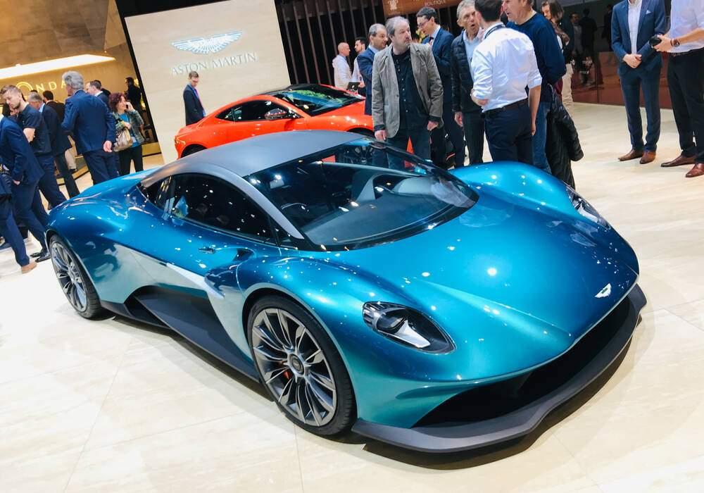 Genève 2019 : Aston Martin Vanquish Vision Concept