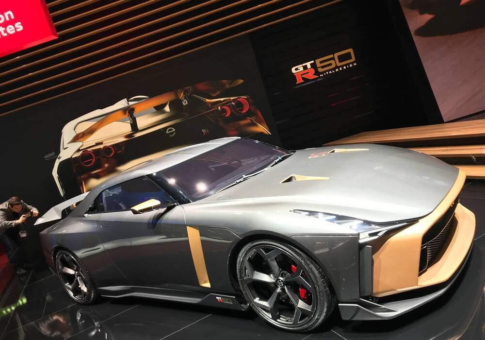 Genève 2019 : Nissan GT-R50 par Italdesign