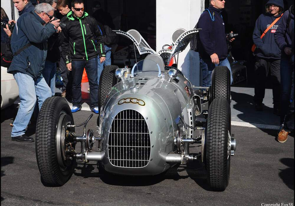 Fiche technique Auto Union Type A (1934)
