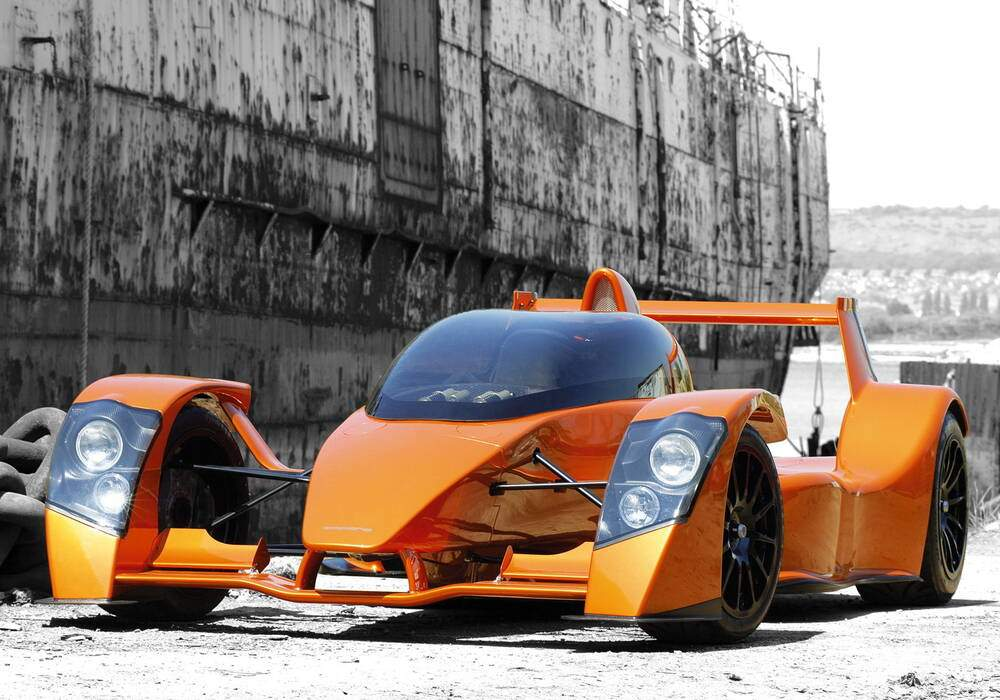 Fiche technique Caparo T1 Prototype (2006)