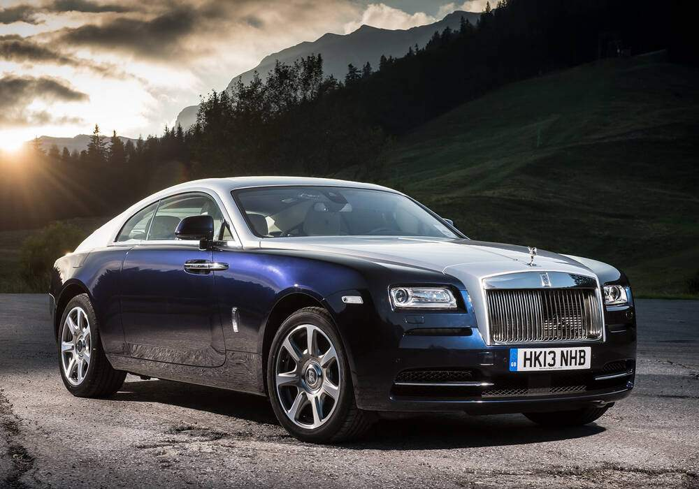 Fiche technique Rolls-Royce Wraith (2014)
