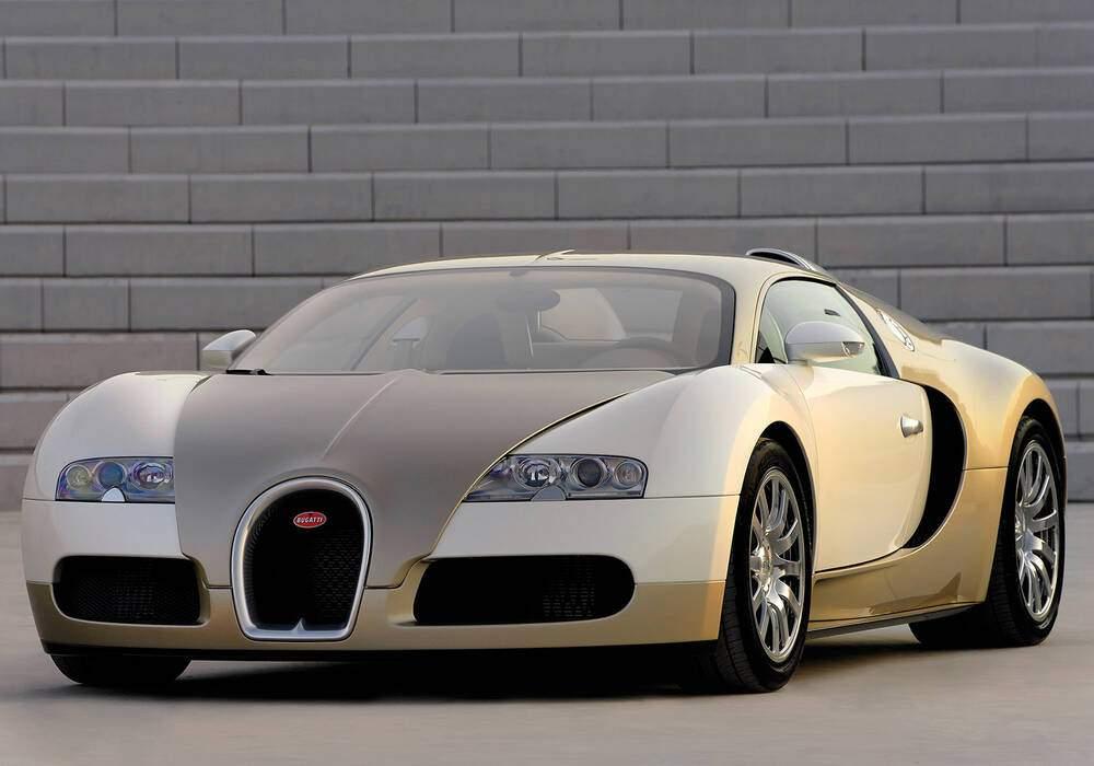 Fiche technique Bugatti EB 16.4 Veyron « Gold Edition » (2009)