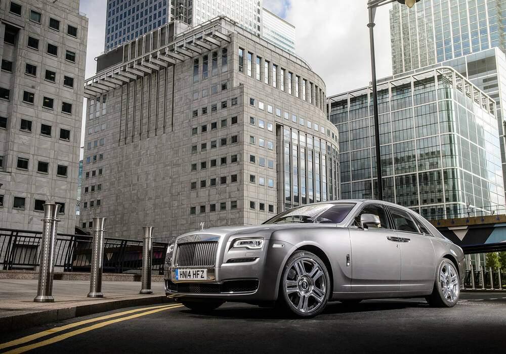 Fiche technique Rolls-Royce Ghost Séries II (2014)