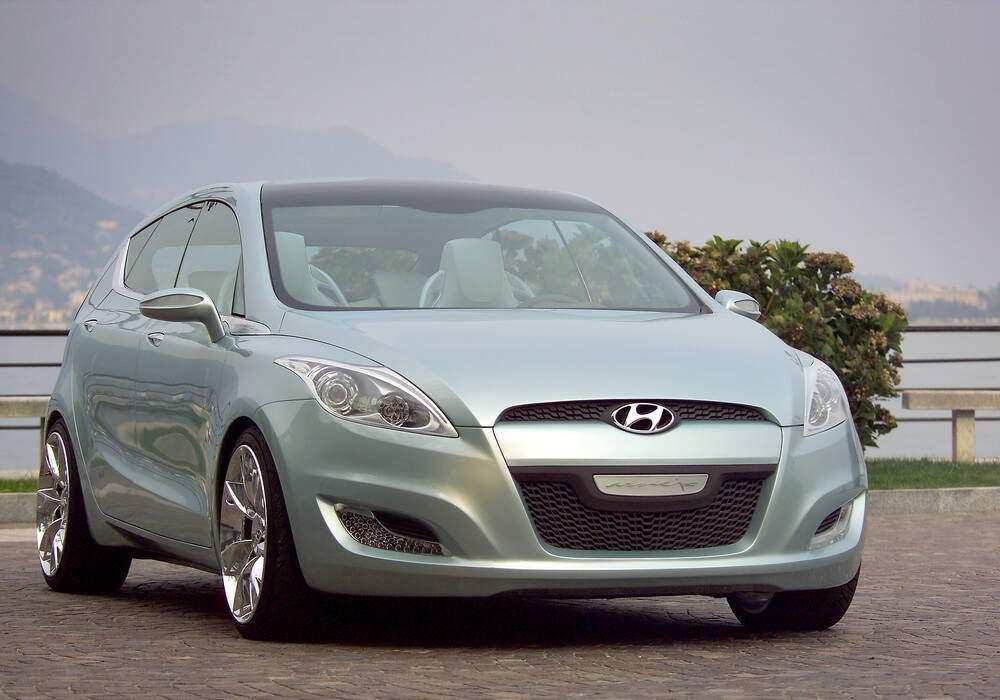 Fiche technique Hyundai HED-3 Arnejs Concept (2006)