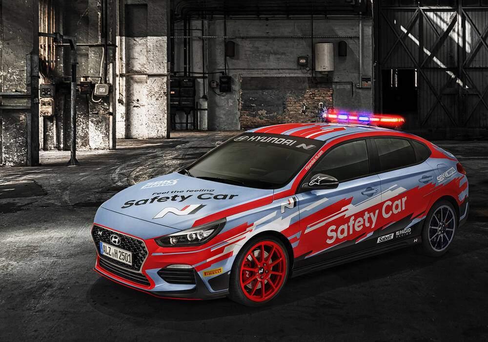 Fiche technique Hyundai i30 III Fastback N Performance (PD) « SBK Safety Car » (2019)