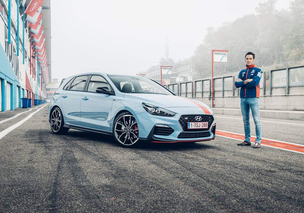 Fiche technique Hyundai i30 III N Performance (PD) « Thierry Neuville Limited Edition » (2017)