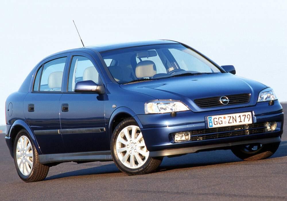Fiche technique Opel Astra II 2.2 16v (2000-2005)