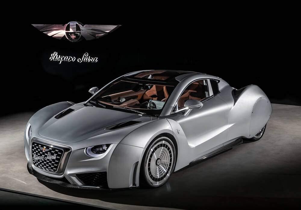 Fiche technique Hispano Suiza Cars Carmen (2019-2010)