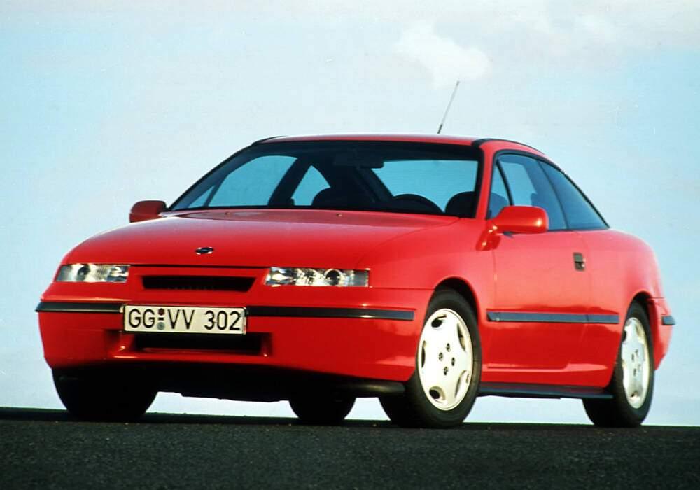 Fiche technique Opel Calibra 2.0 16v (1990-1994)