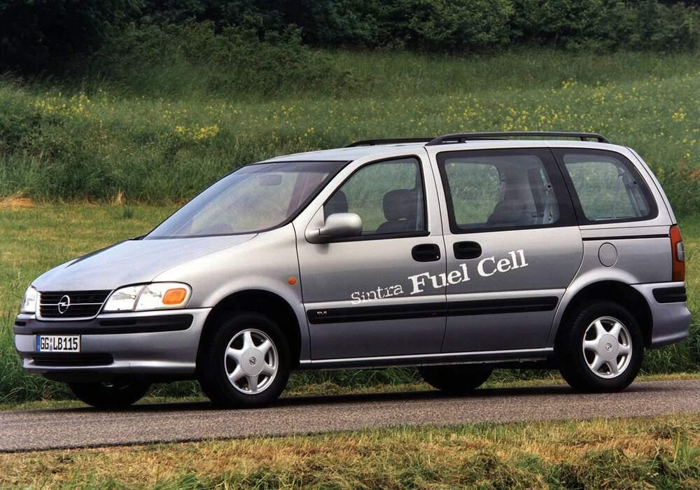 Fiche technique Opel Sintra Fuel Cell Concept (1998)