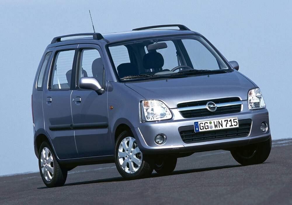 Fiche technique Opel Agila 1.3 CDTi 70 (2003-2007)