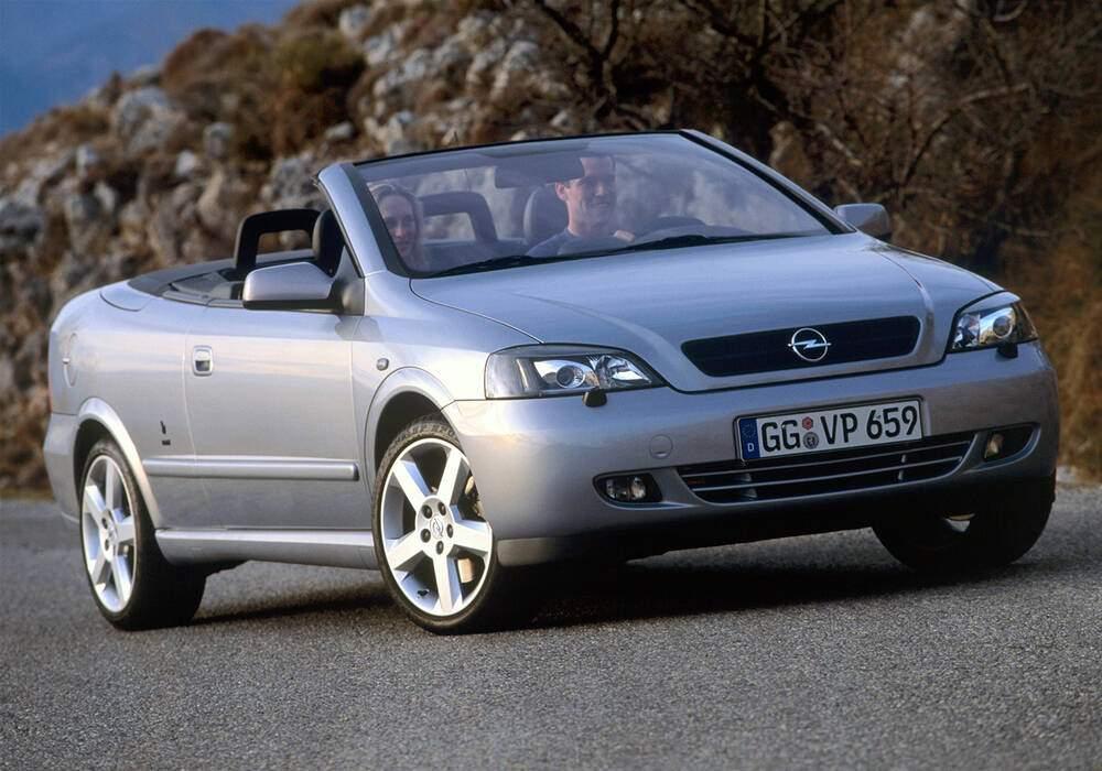 Fiche technique Opel Astra II Cabriolet 2.0 Turbo 190 (2001-2005)