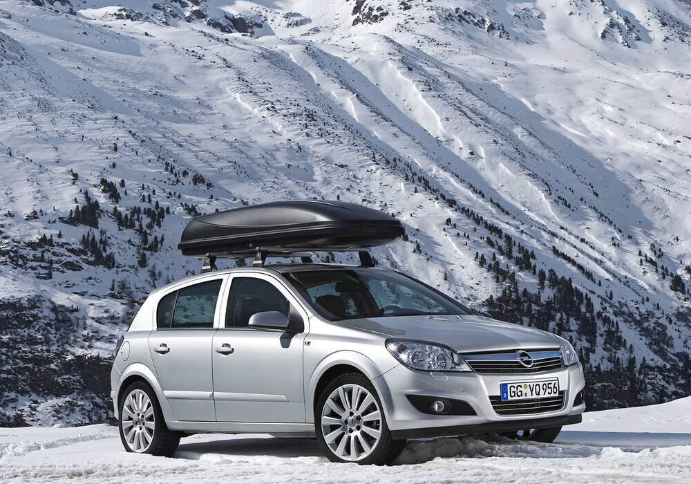 Fiche technique Opel Astra III 1.6 16v (2006-2010)