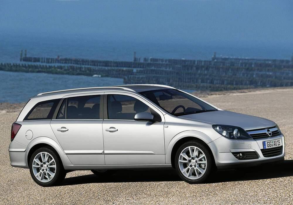 Fiche technique Opel Astra III Caravan 1.8 16v (2004-2006)