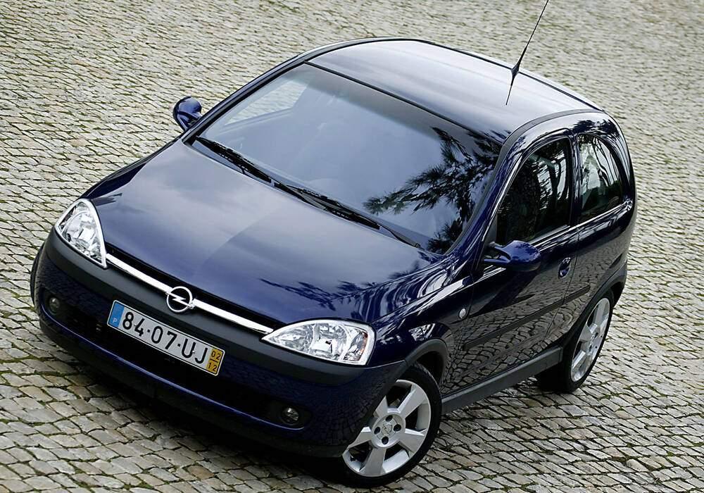 Fiche technique Opel Corsa III GSi (2000-2003)