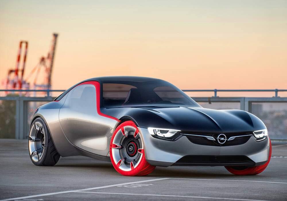 Fiche technique Opel GT Concept (2016)