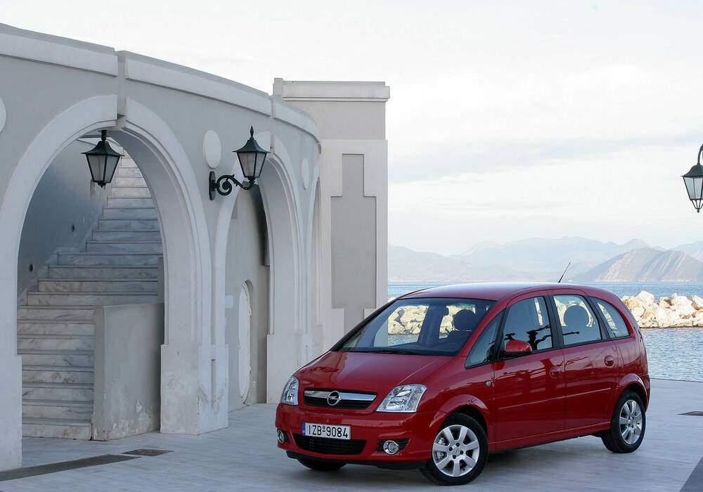 Fiche technique Opel Meriva 1.6 Twinport 105 (2005-2009)
