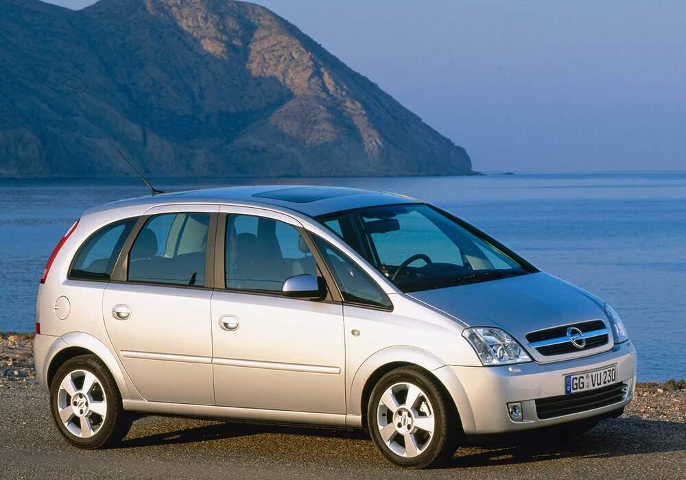 Fiche technique Opel Meriva 1.8 (2003-2009)