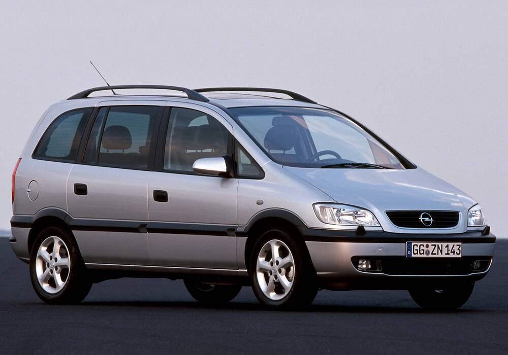 Fiche technique Opel Zafira 2.2 16v (2000-2005)