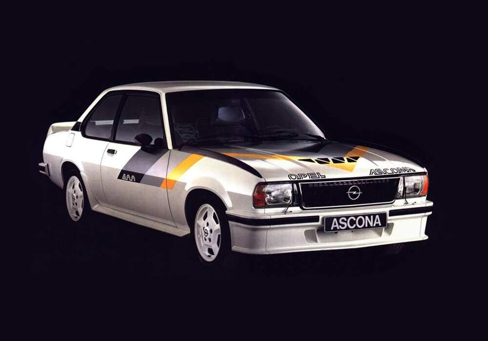 Fiche technique Opel Ascona II 400 (B) (1979-1981)