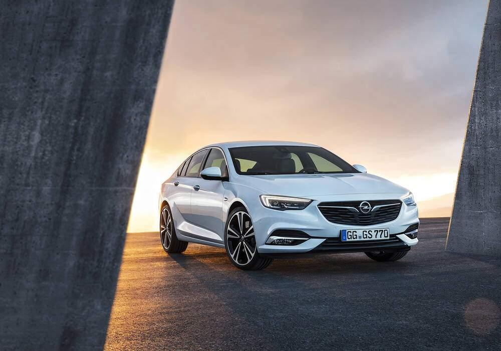 Fiche technique Opel Insignia II Grand Sport 2.0 Turbo 260 (B) (2017-2018)