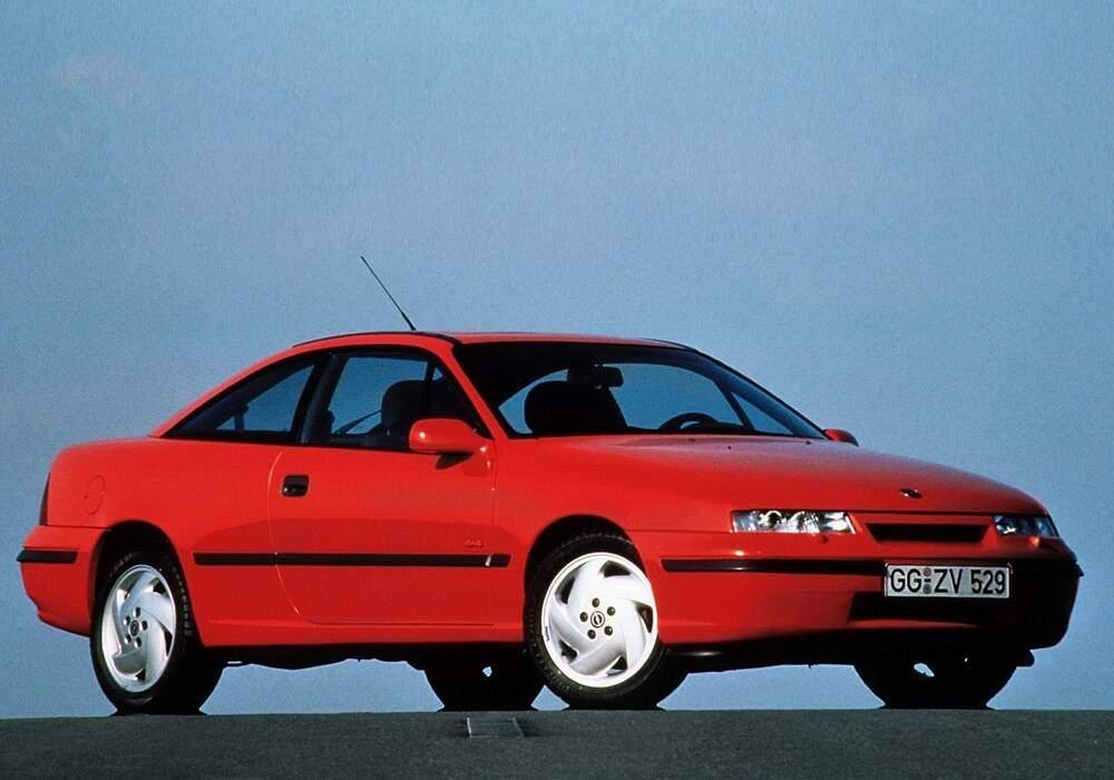 Fiche technique Opel Calibra 2.0 Turbo (1992-1996)
