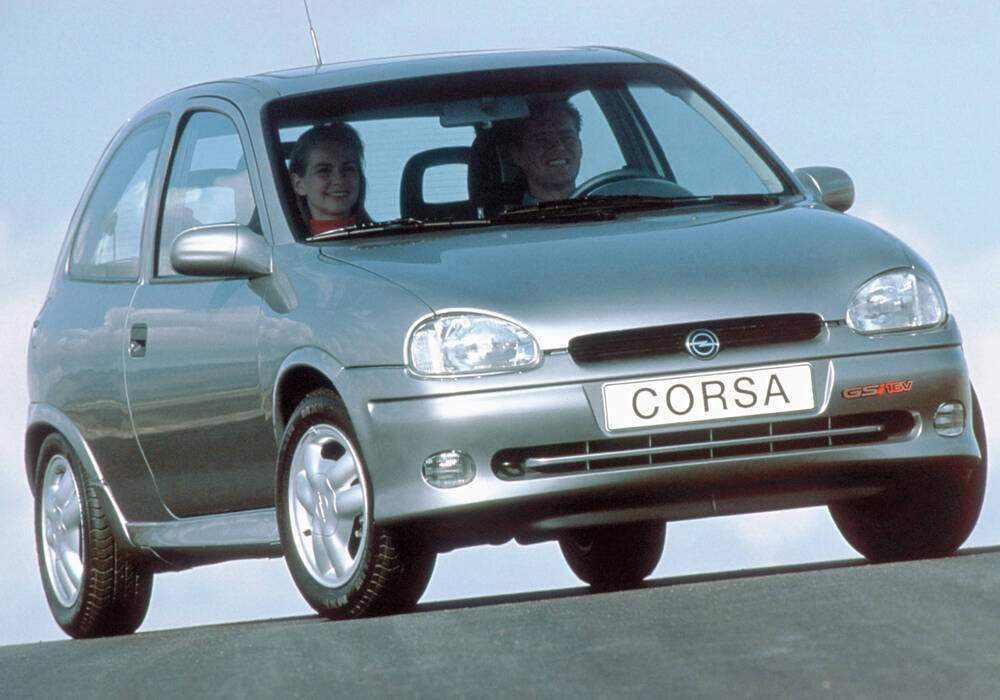 Fiche technique Opel Corsa II GSi (1993-1997)