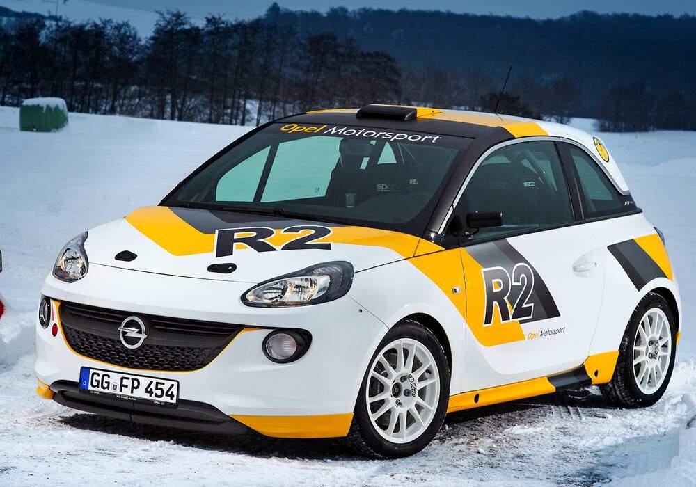 Fiche technique Opel Adam R2 Rallye Concept (2013)