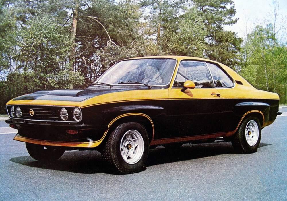 Fiche technique Opel Manta 2.8 TE (A) (1974-1975)