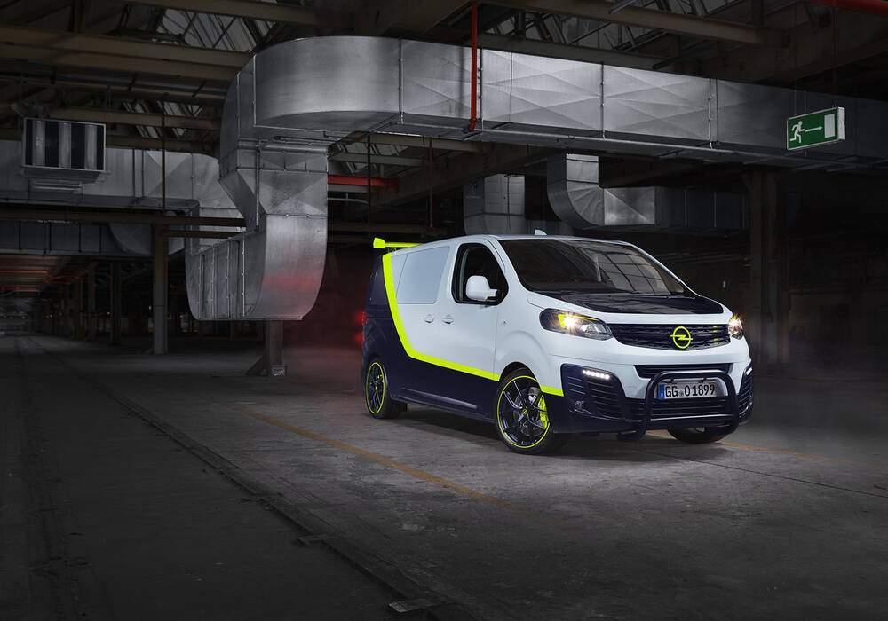 Fiche technique Opel Zafira Life O-Team (2019)