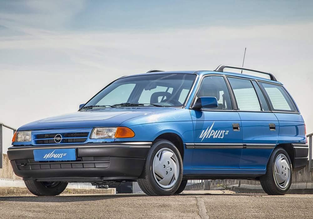 Fiche technique Opel Astra Impuls II (1991)
