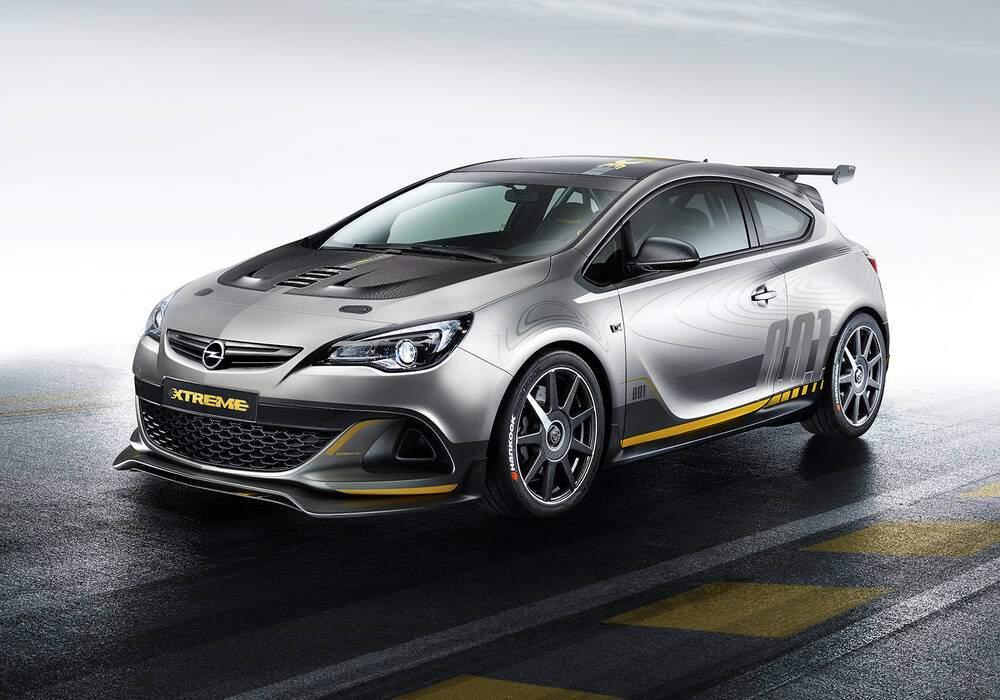 Fiche technique Opel Astra OPC Extreme Concept (2014)