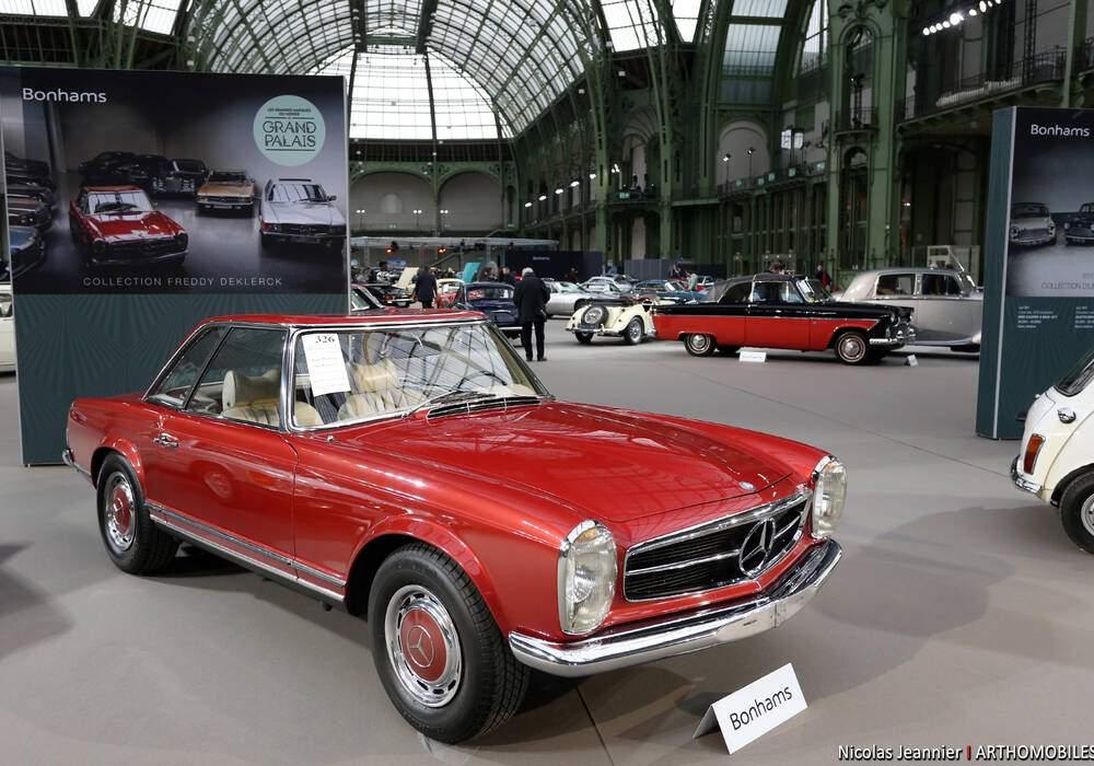 Fiche technique Mercedes-Benz 280 SL (W113) (1968-1971)
