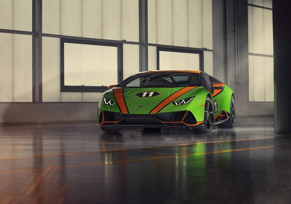Fiche technique Lamborghini Huracán EVO « GT Celebration » (2020)