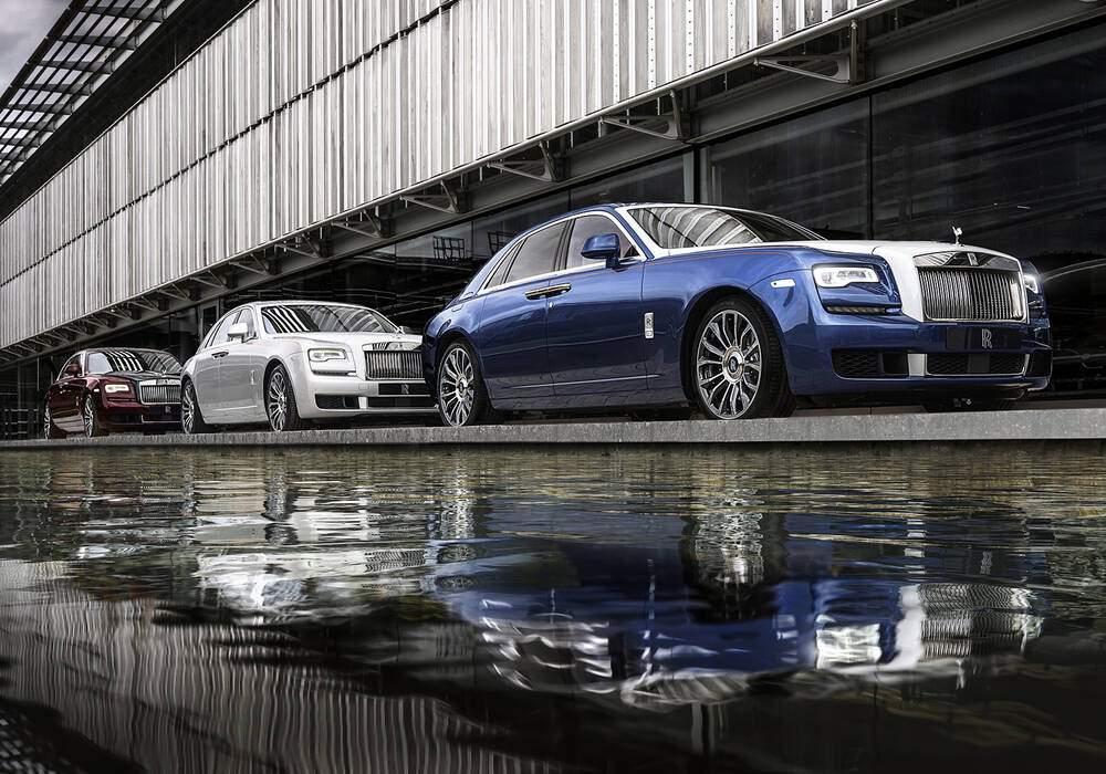 Fiche technique Rolls-Royce Ghost Séries II « Zenith ...