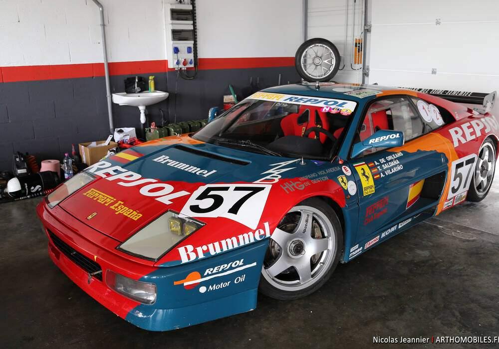Fiche technique Ferrari 348 GT Competizione LM (1994)
