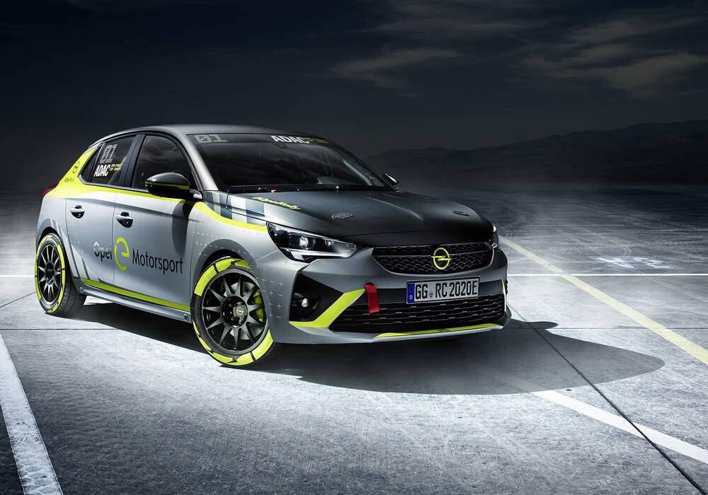 Fiche technique Opel Corsa-e Rally (2020)