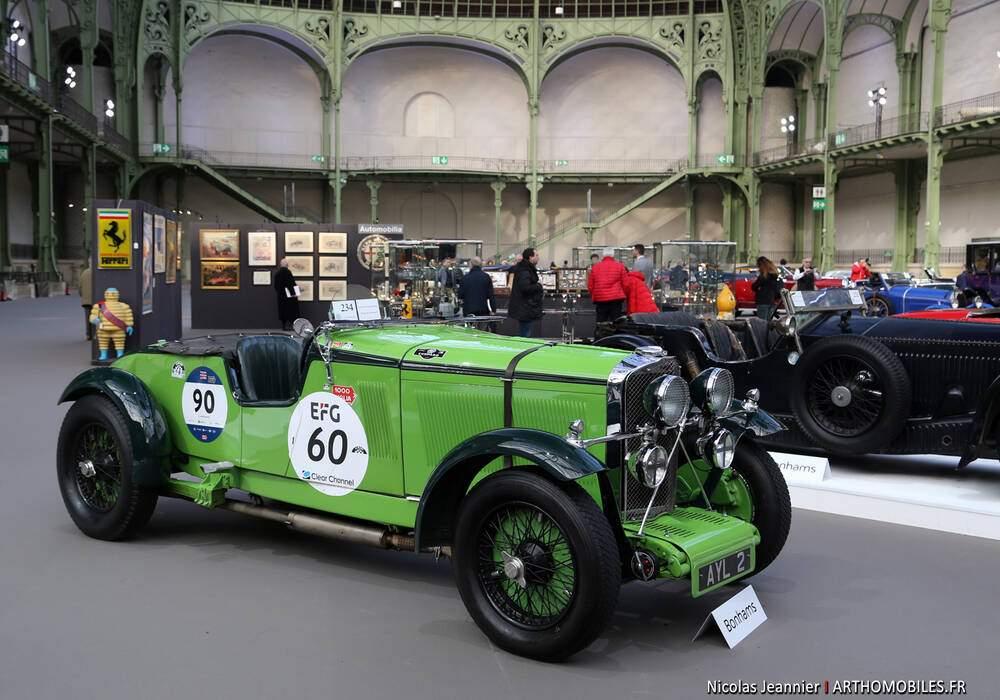 Fiche technique Talbot 105 Brooklands Tourer (1931-1934)