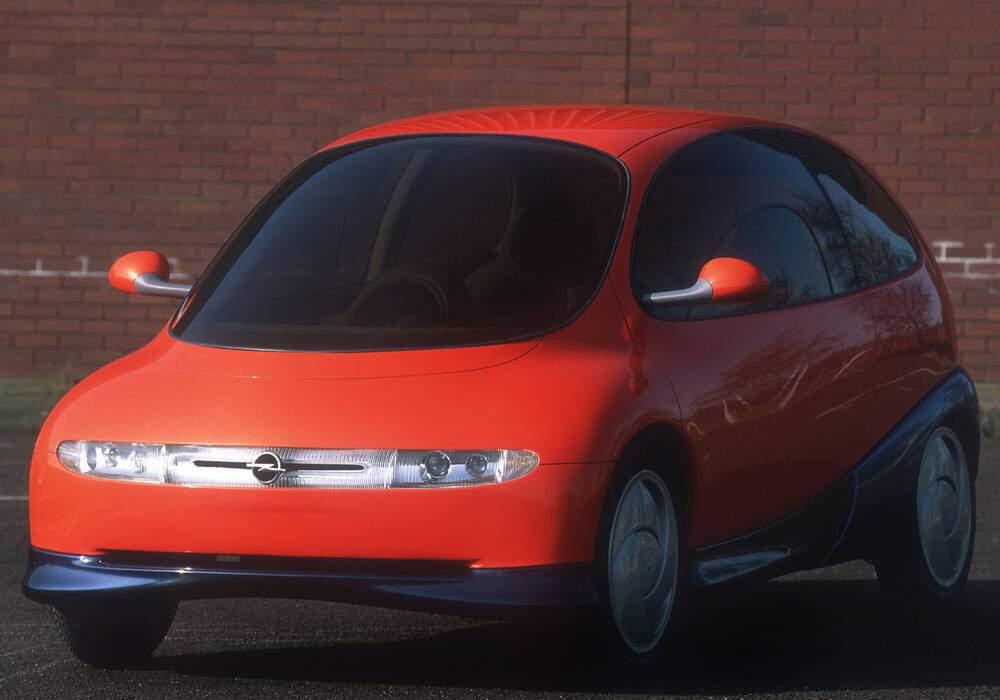 Fiche technique Opel Twin Concept (1992)