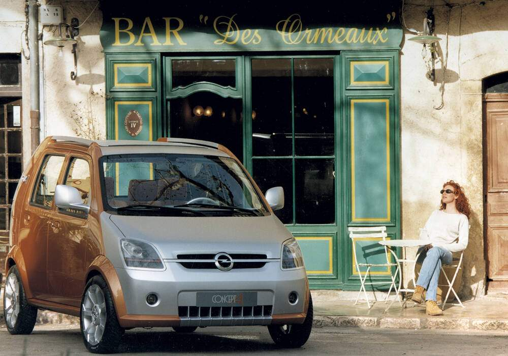 Fiche technique Opel Concept A (1999)
