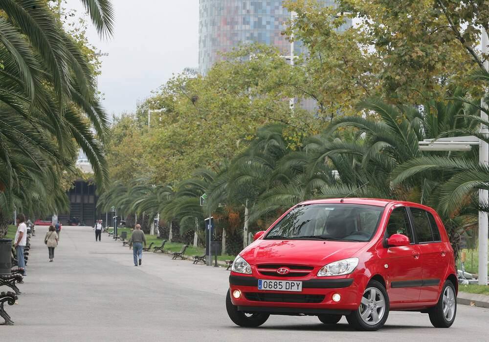 Fiche technique Hyundai Getz 1.5 CRDi 110 (TB) (2005-2009)
